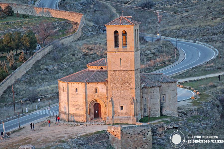 Iglesia de la Vera Cruz fuera de las murallas de Segovia
