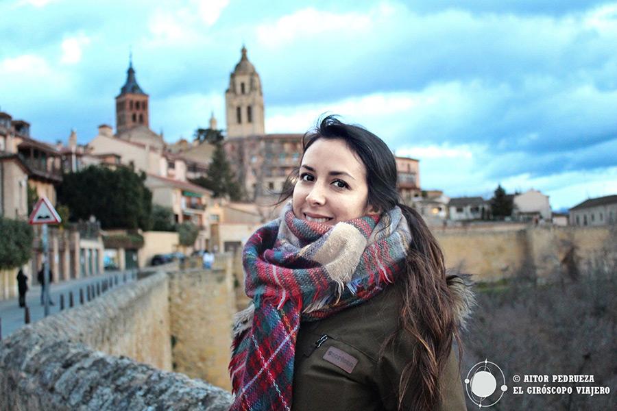 Paseo sobre las murallas desde el Alcázar de Segovia