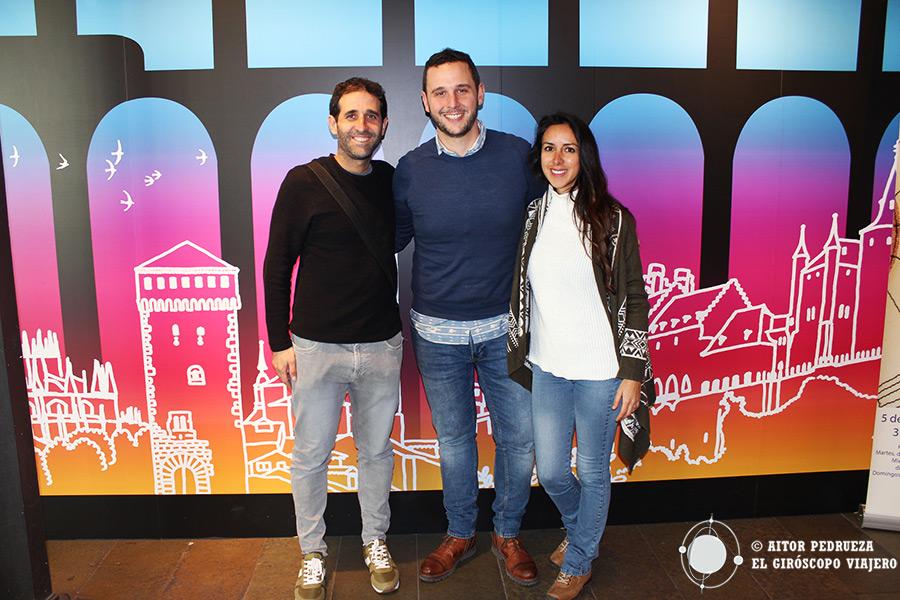 Agradecimiento a los compañeros de la Oficina de Turismo de Segovia