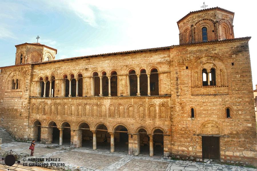 Galería de Gregori de la iglesia de Santa Sofía ©Marcela Pérez Z.