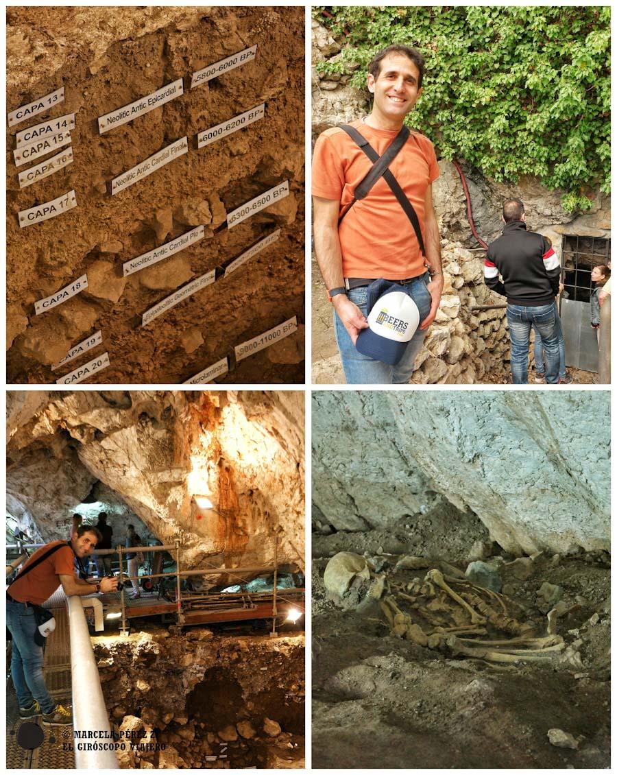 Cueva neolítica de Can Sadurní en Begues