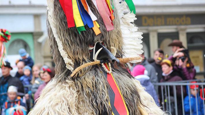 De Carnaval en Ptuj (Eslovenia) con los Kurent
