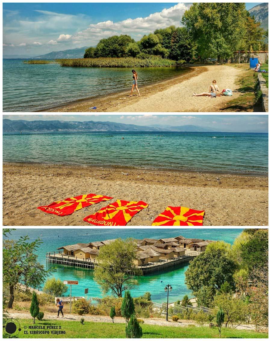 Lago Ohrid y Bahía de los Huesos ©Marcela Pérez Z.
