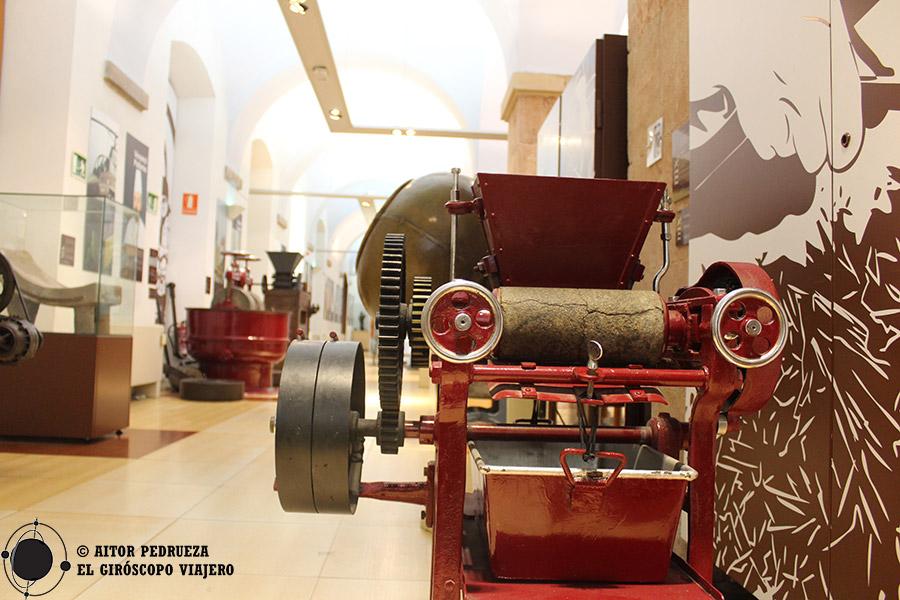 Salas del Museu de la Xocolata de Barcelona