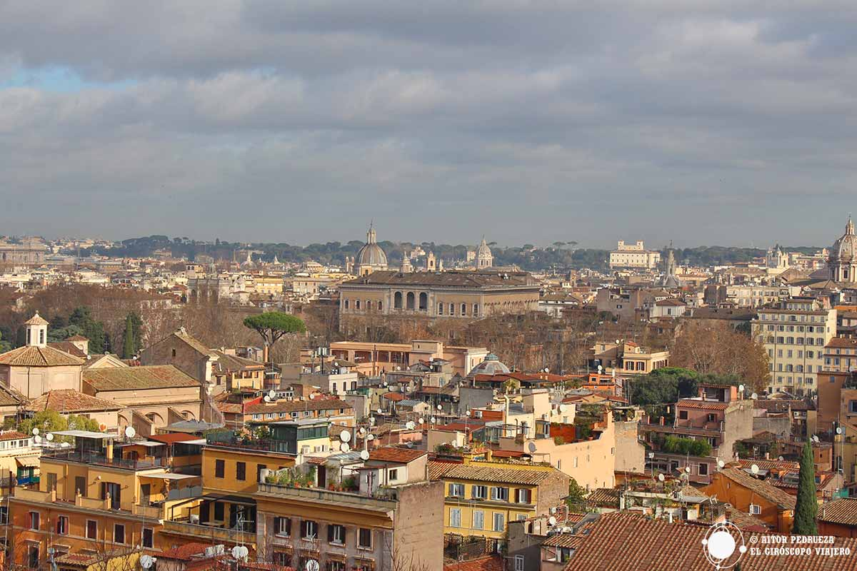 Vistas de Roma desde San Pietro in Montorio