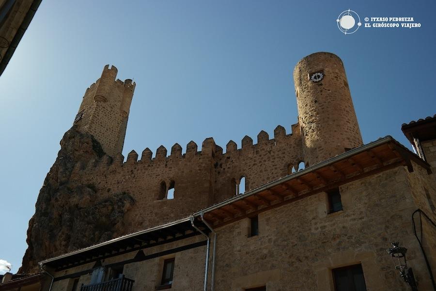 El castillo, símbolo de Frías