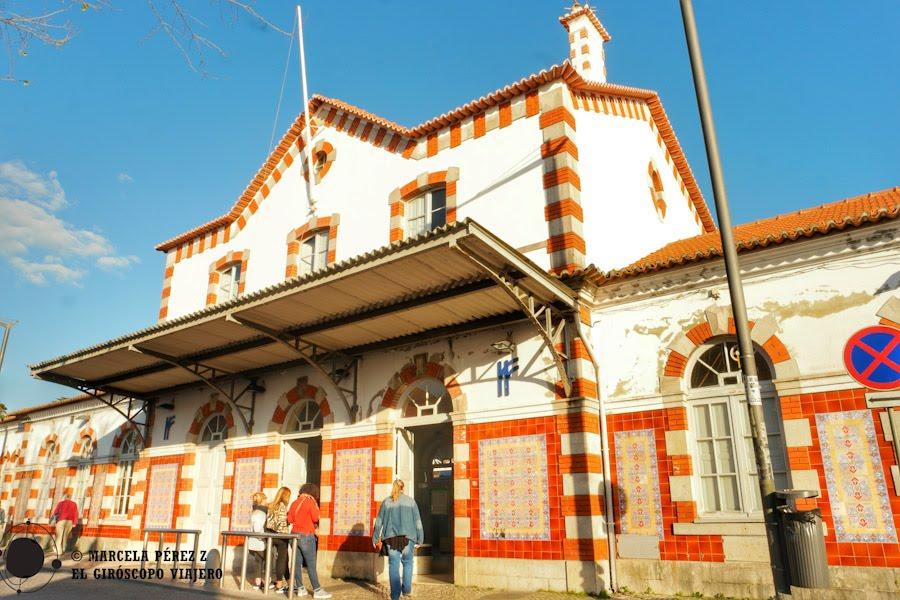Fachada de la Estación de Tren de Sintra ©Marcela Pérez Z.