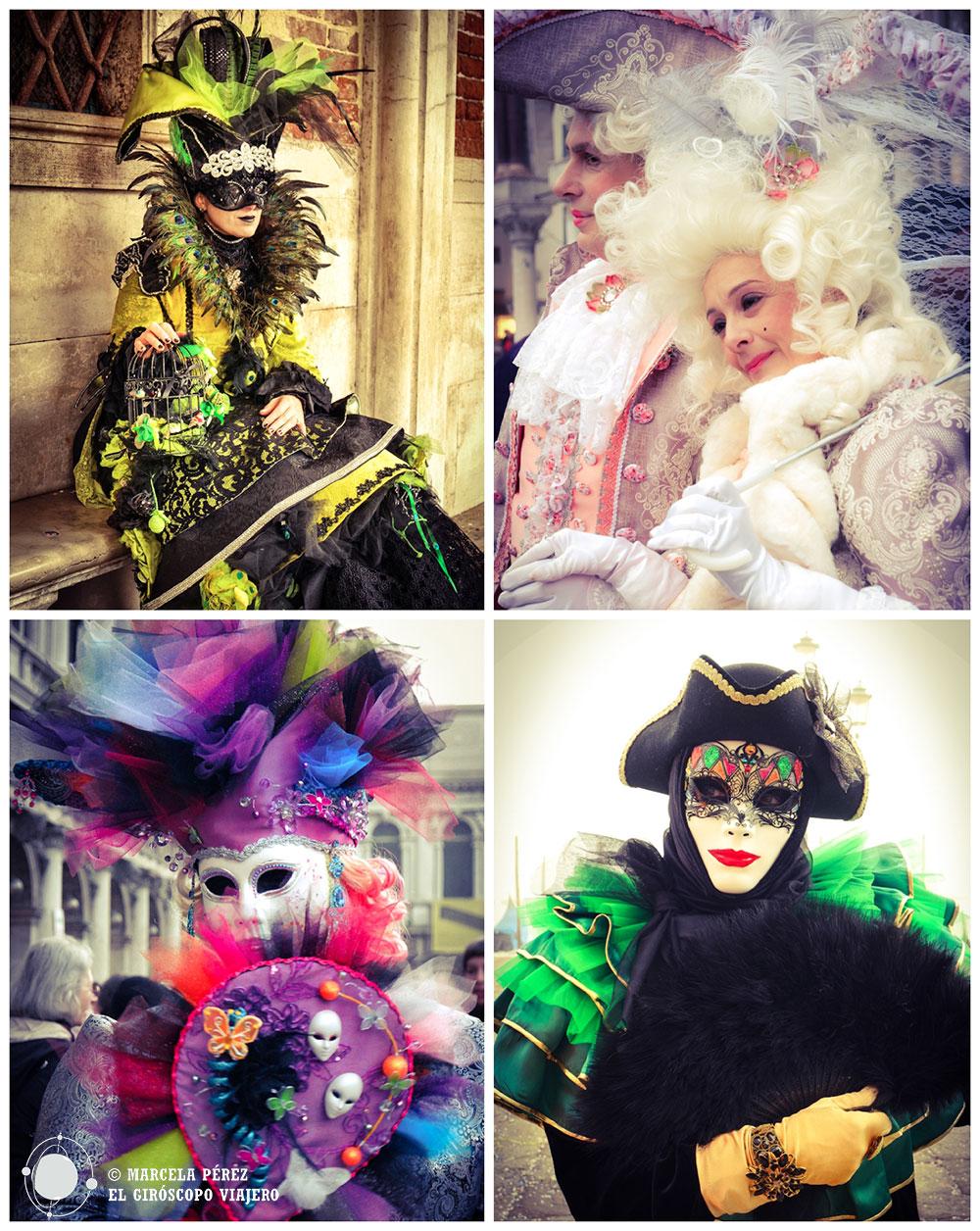 Festival de disfraces. Es impresionante lo elaborados que son cada uno de ellos. ©Marcela Pérez Z.
