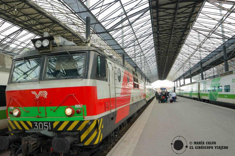 15b53c88955 Es fácil viajar en tren por Finlandia con VR -