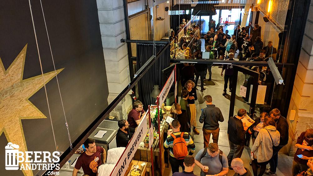Ambiente en el Leuven Innovation Beer Festival