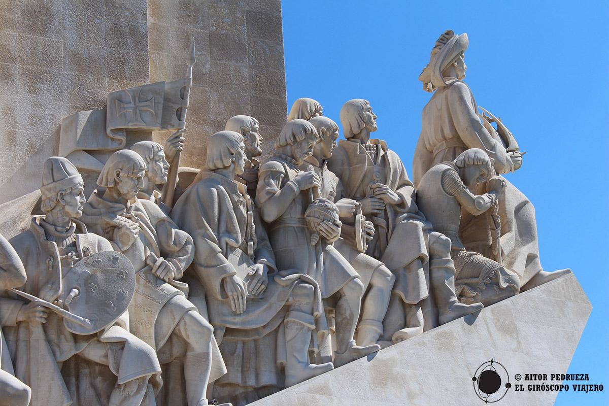 Monumento a los Descubrimientos en Belem