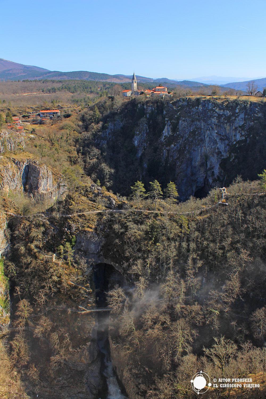 Dolinas de la cueva de Skocjan