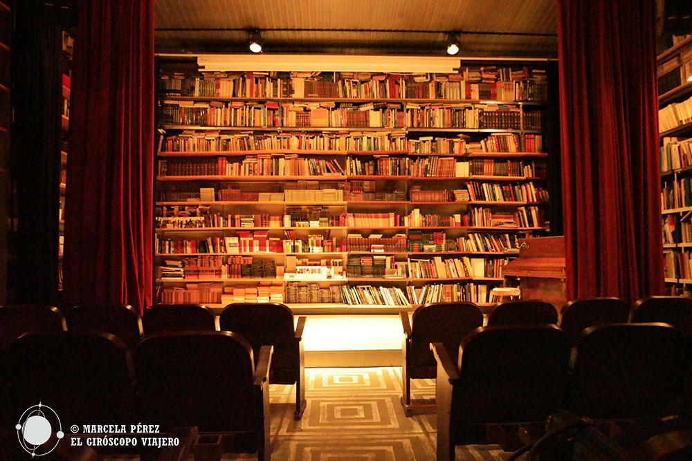 """El """"Teatret"""" de la La librería El Siglo en Mercantic"""