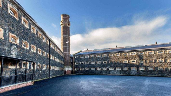 La prisión de Crumlin Road Gaol en Belfast