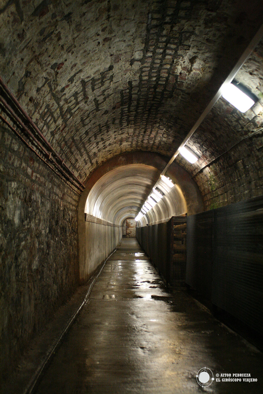 Túnel de la prisión e Crumlin Road en Belfast