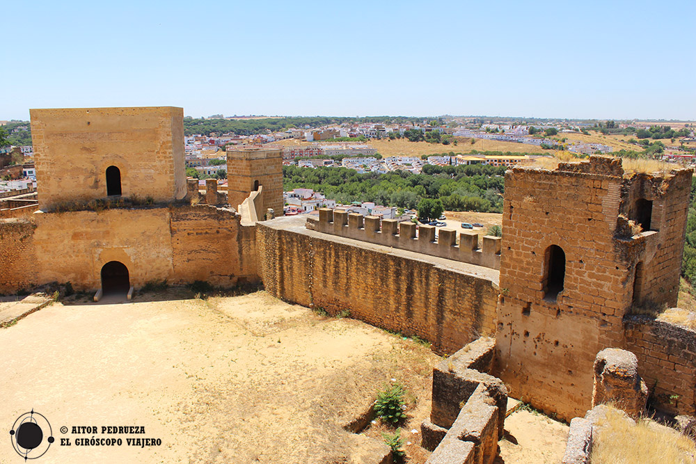 Interior del castillo de Alcalá de Guadaira