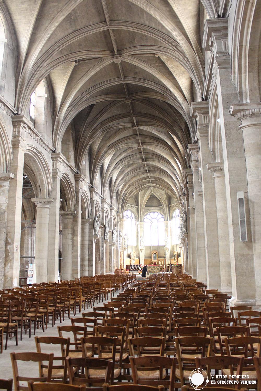 Interior de la catedral de Le Havre