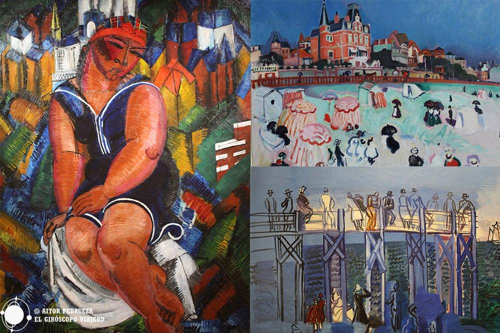 Cuadros de Dufy en el MUMA de le Havre