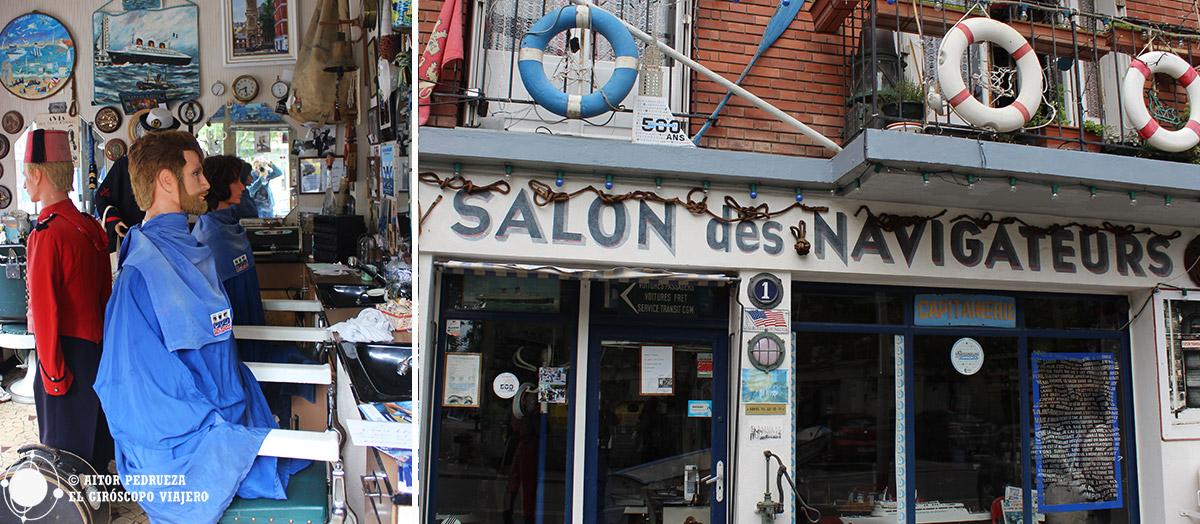 Salon des Navigateurs, la curiosa peluquería museo e Le Havre