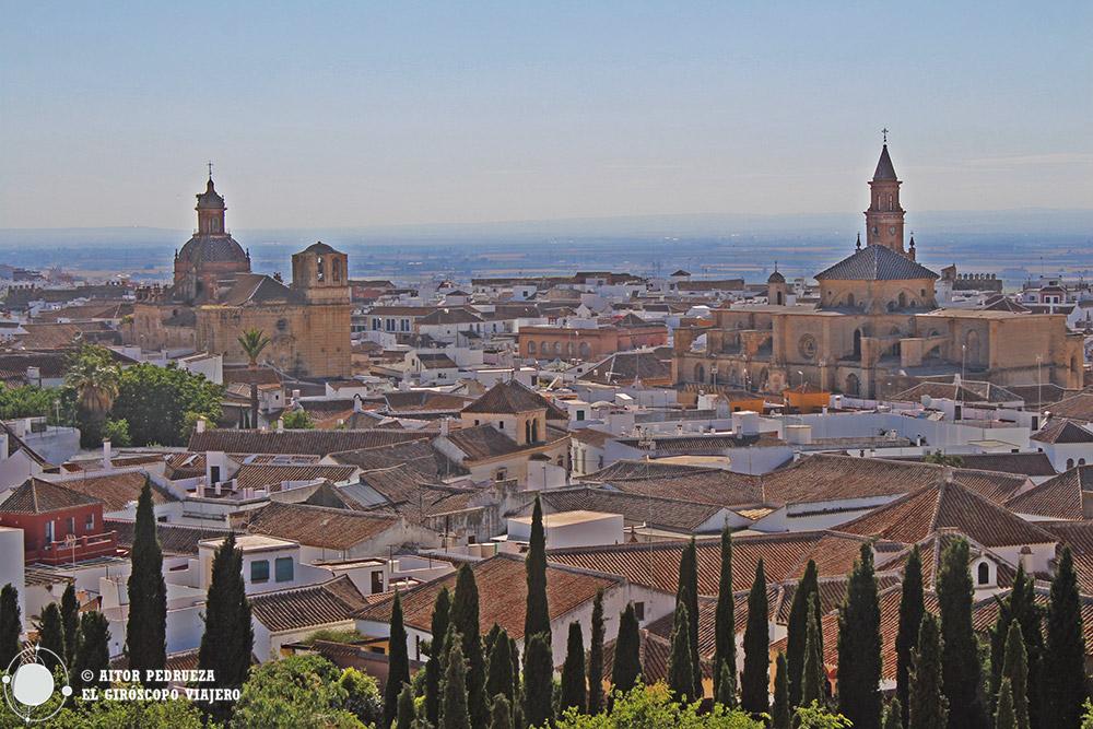 Vista de Carmona desde el Alcázar del rey Don Pedro