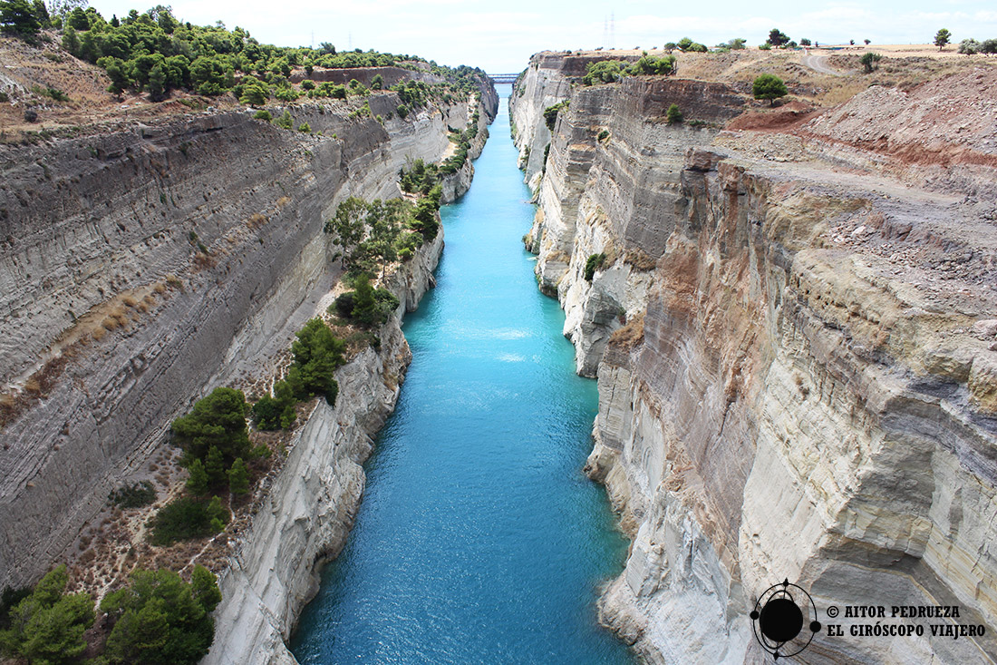 El Canal de Corinto soñado desde hace casi tres mil años.