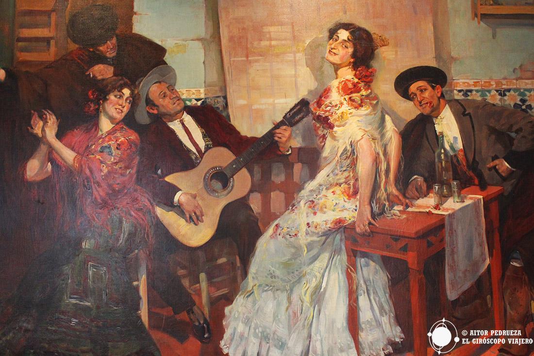 Pinturas de la Casa Fabiola