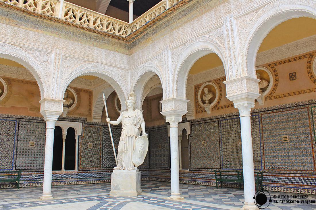 Patio de la Casa de Pilatos en Sevilla