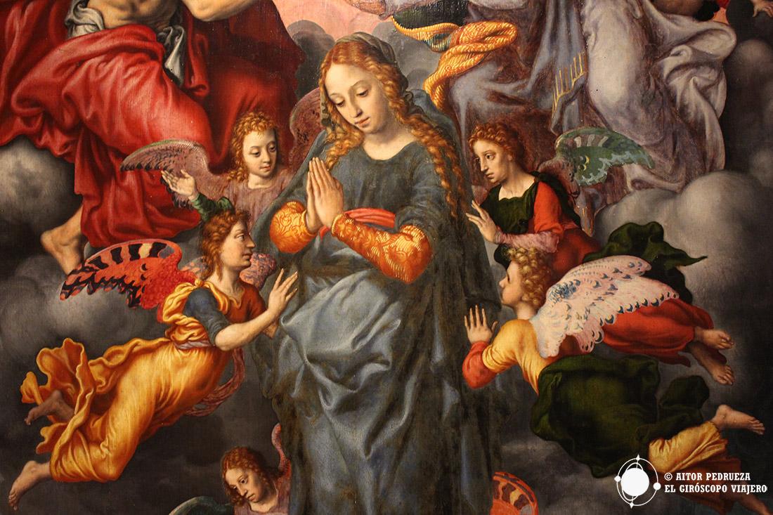 Pintura del museo de Bellas Artes de Sevilla