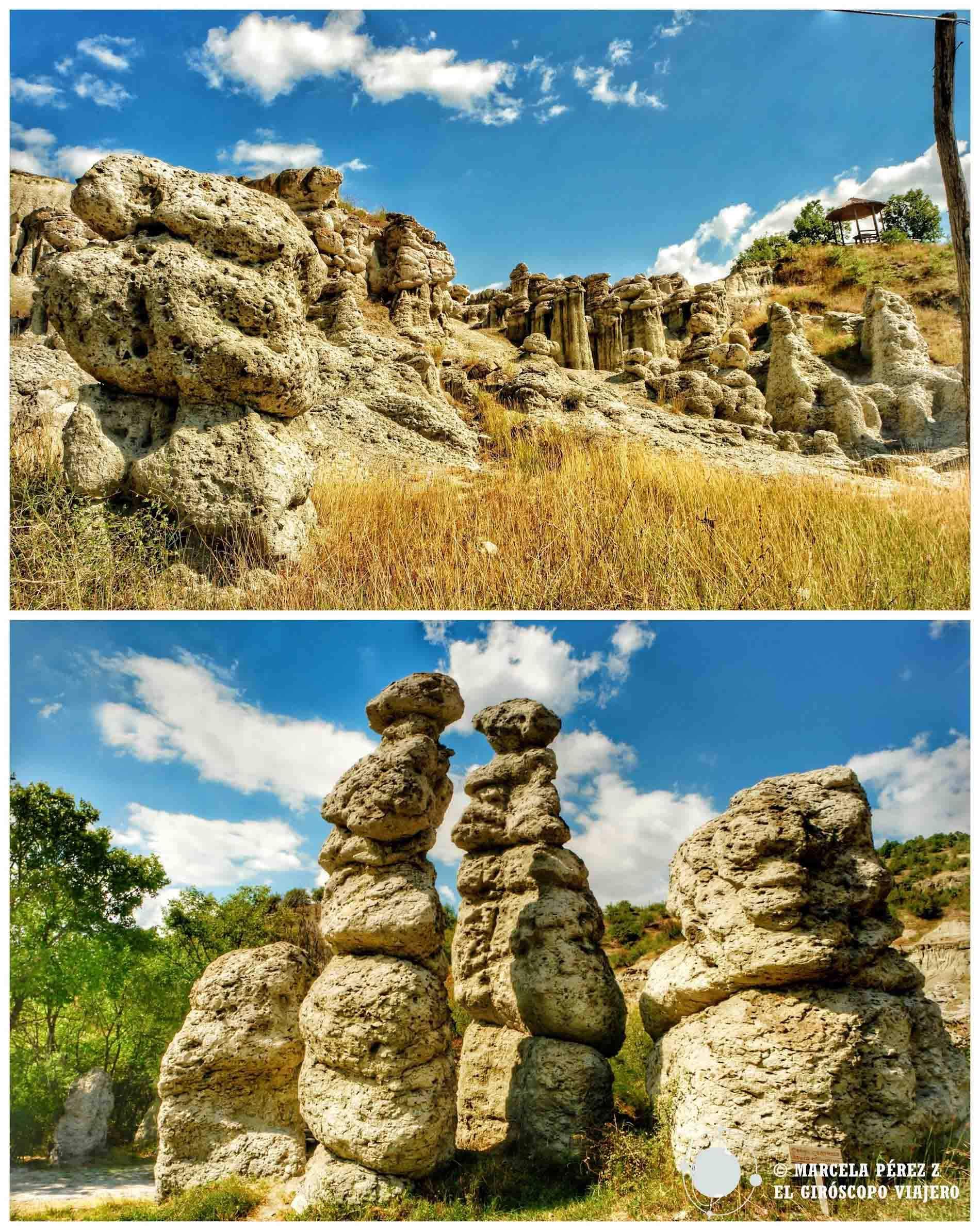 Grandes formaciones rocosas que impresionan cerca de Kratovo ©Marcela Pérez Z.