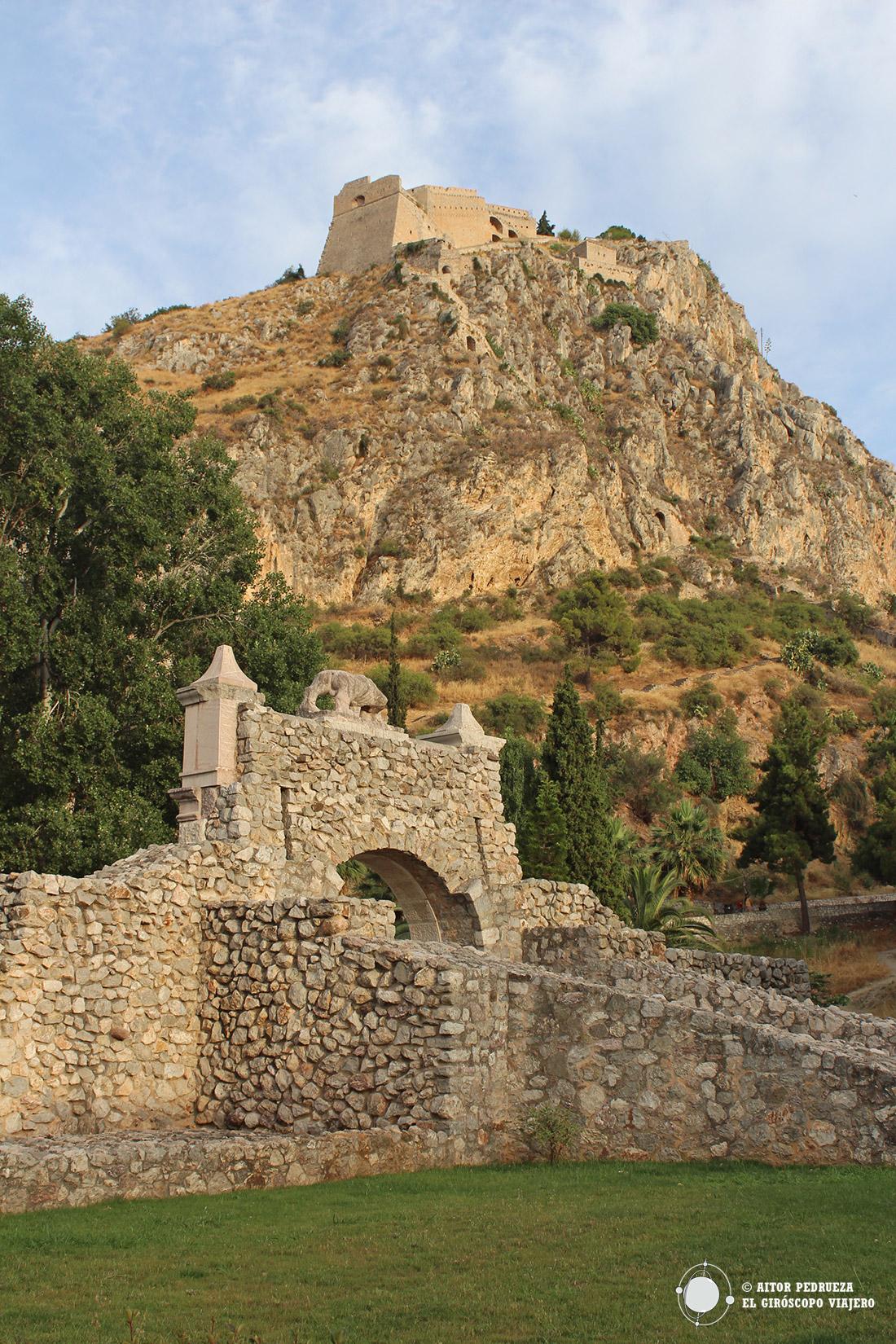 Fortaleza de Palamedes en Nauplia