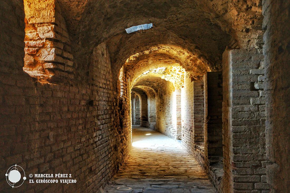 Corredor del anfiteatro de Itálica