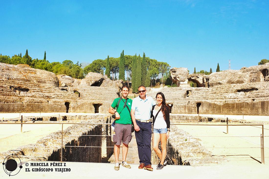 Visita al Anfiteatro de Itálica