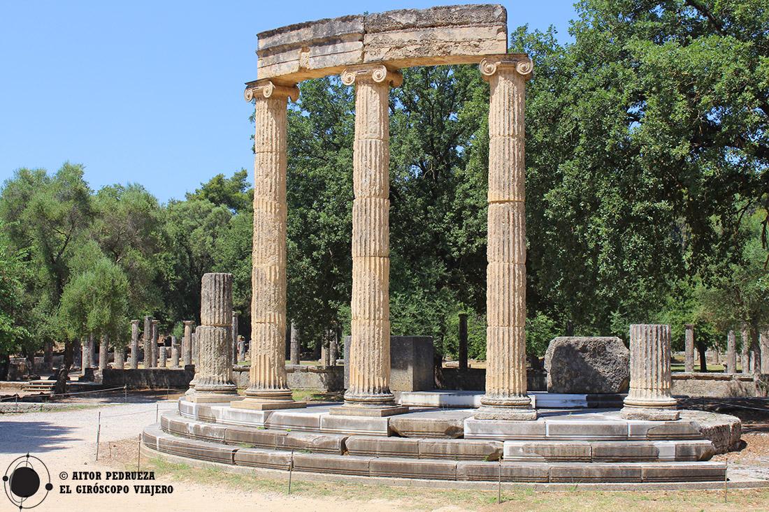 Visita al yacimiento de la antigua ciudad de Olimpia