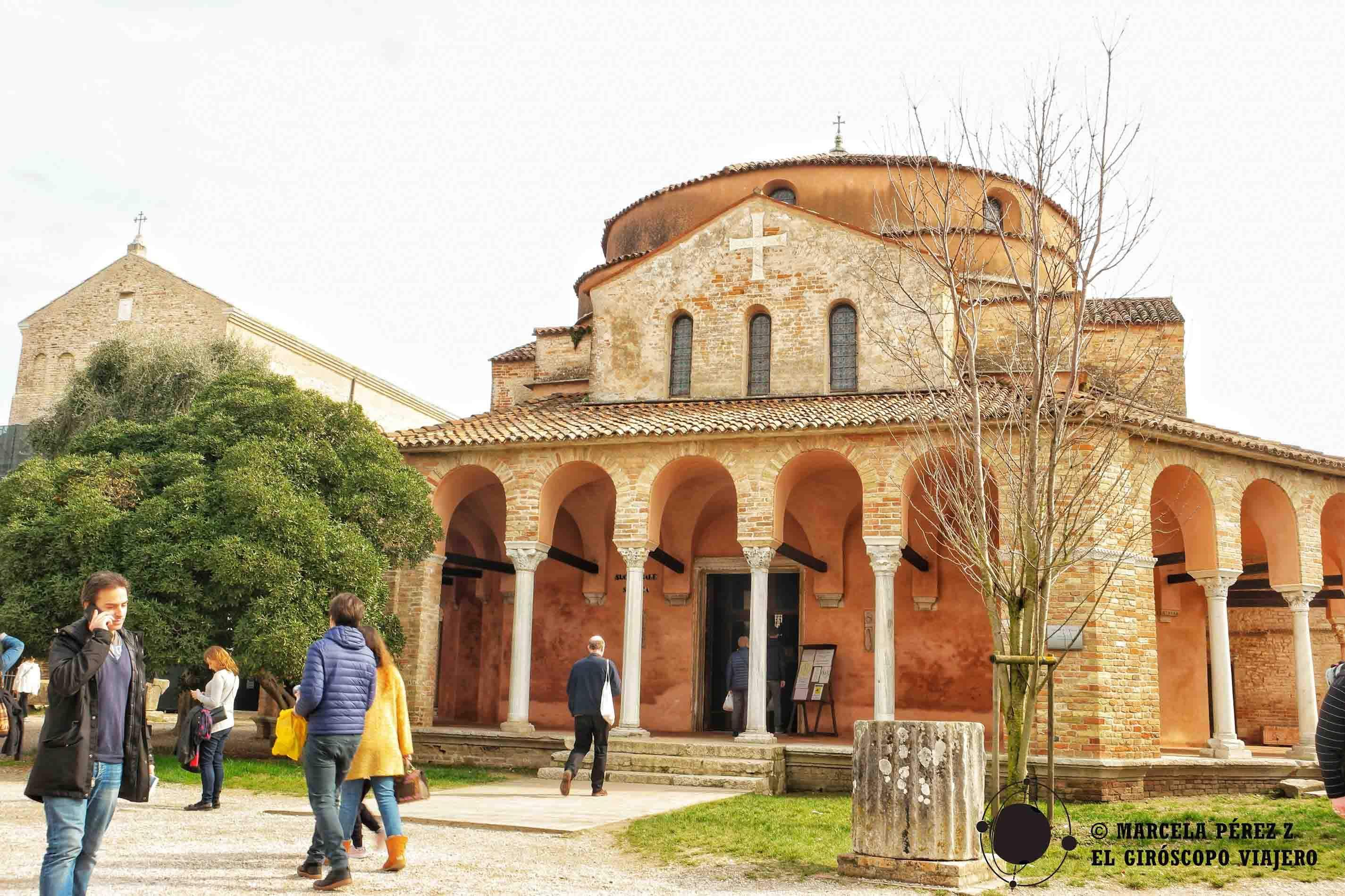 Catedral de Santa María Asunta en Torcello ©Marcela Pérez Z.