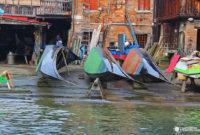 Squero di San Trovaso, el astillero donde nacen las góndolas de Venecia