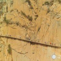 El Caminito del Rey, una ruta de vértigo en el corazón de la sierra de Málaga