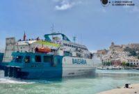 Ferry de Ibiza a Formentera con coche o moto