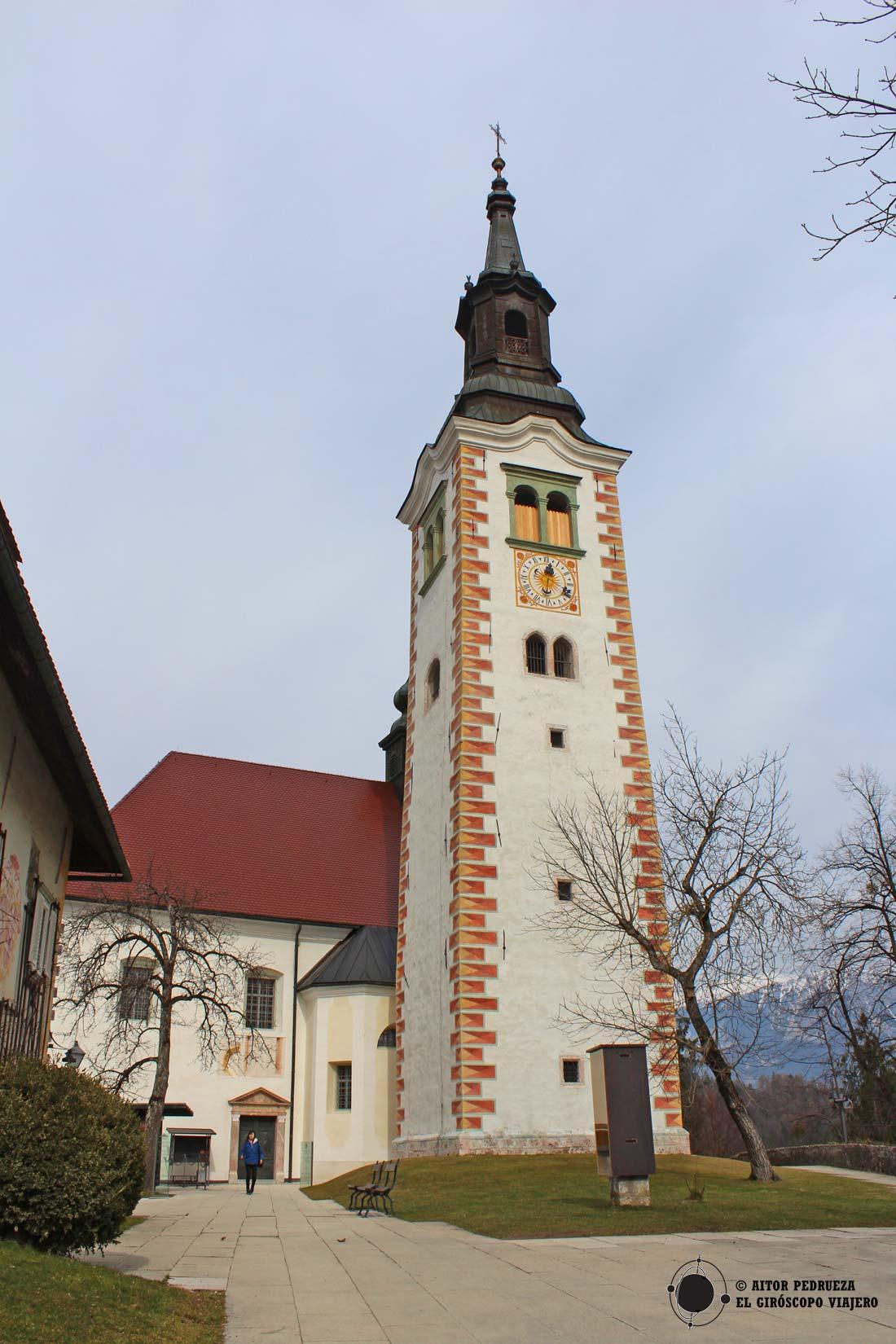 Iglesia de la Isla del lago Bled