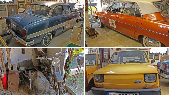 """Museo etnográfico y de autos """"Filip"""" Krklino en Macedonia"""