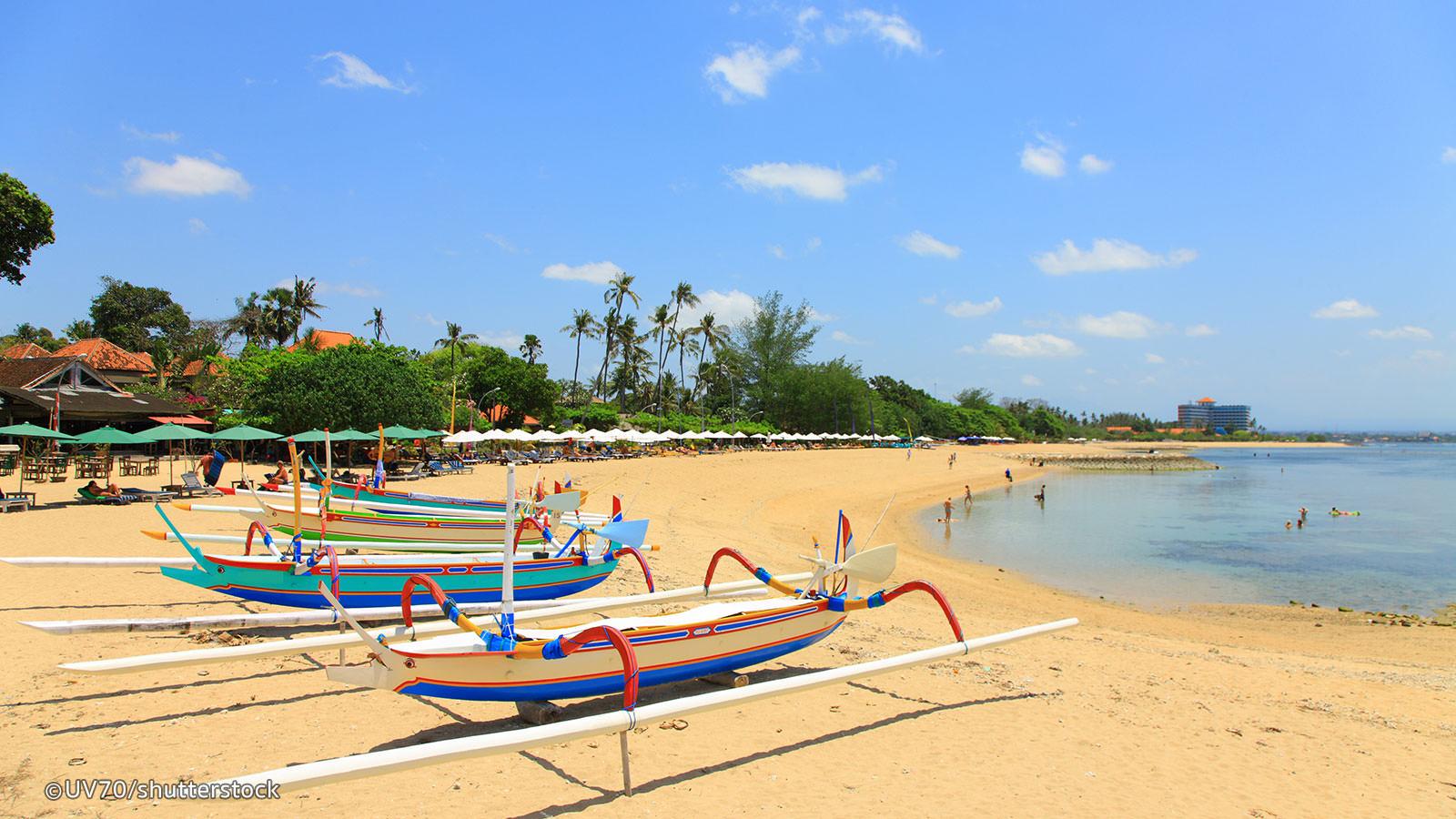 Playas de la isla de Bali en Indonesia