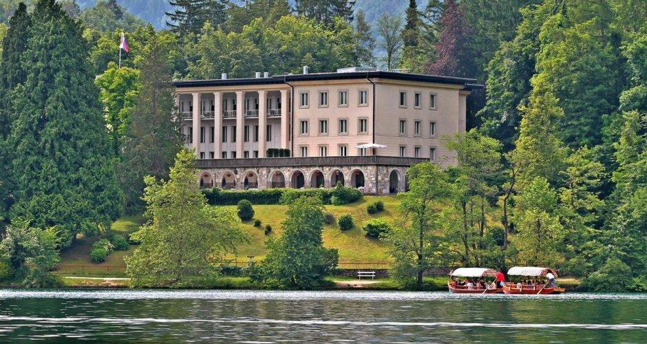 Vila Bled, antigua residencia de verano del presidente de Yugoslavia Tito