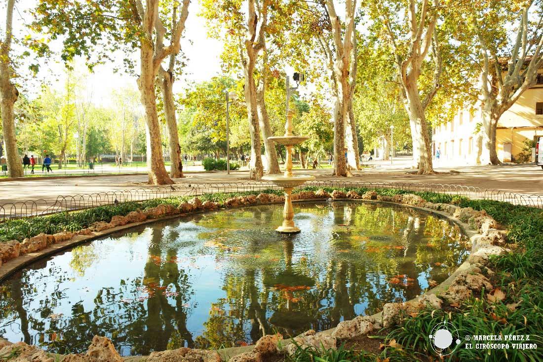 Parque de Can Mercader en Cornellá de Llobregat