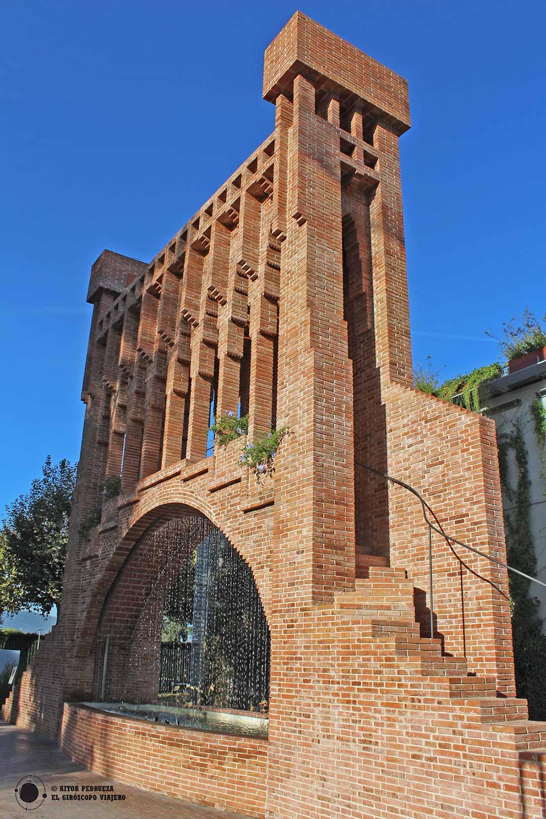 Cascada de Gaudí en el Museo de las Auguas de Cornellà