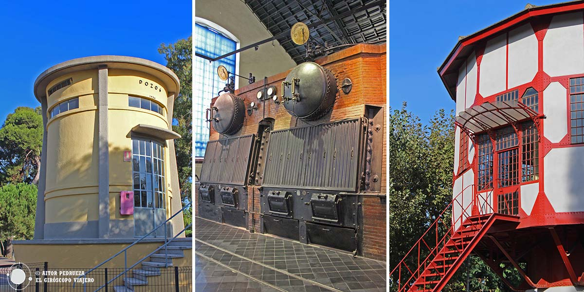 Espacios de la Estación de Bombeo . Museo Agbar