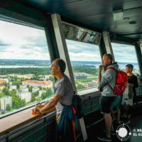 Panorámicas de Tampere desde sus tres torres mirador: Näsinneula, Pyynikki y Solo Sokos Torni