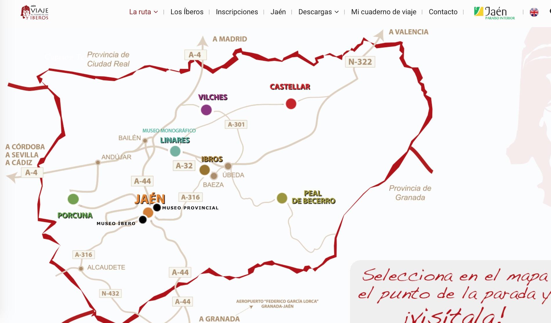 Descubriendo Jaén con el Viaje al tiempo de los íberos (y de los romanos) -