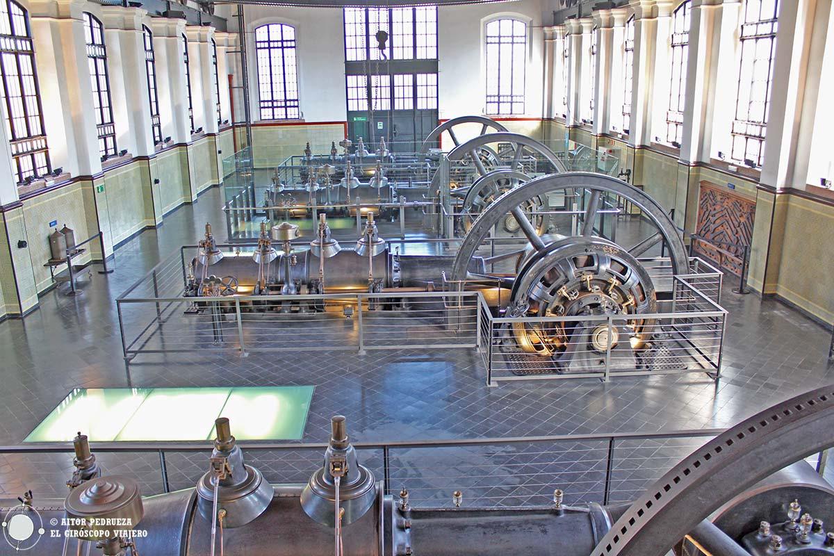 Central de Bombeo de Aguas - hoy sede del Museo de las Aguas