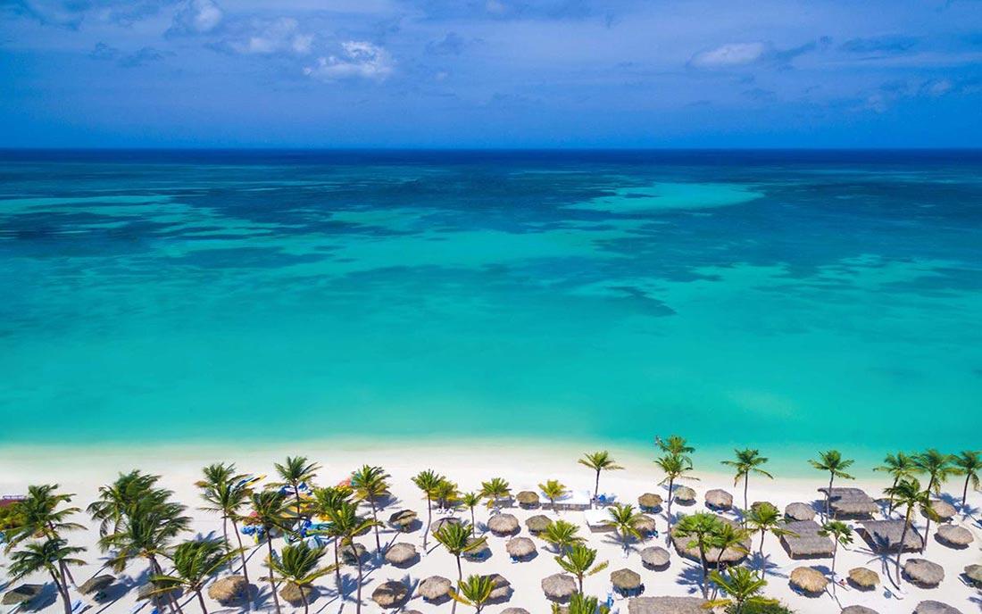 Playas de Aruba. Un destino de ensueño en el Caribe para 2020.