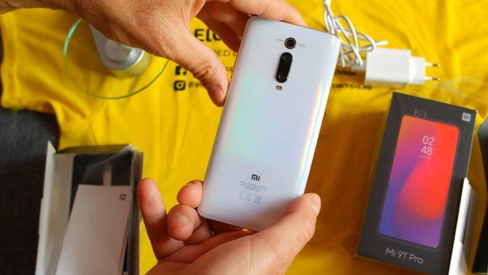 Probando el teléfono Xiaomi Mi9T PRO en las Baleares y Azores.