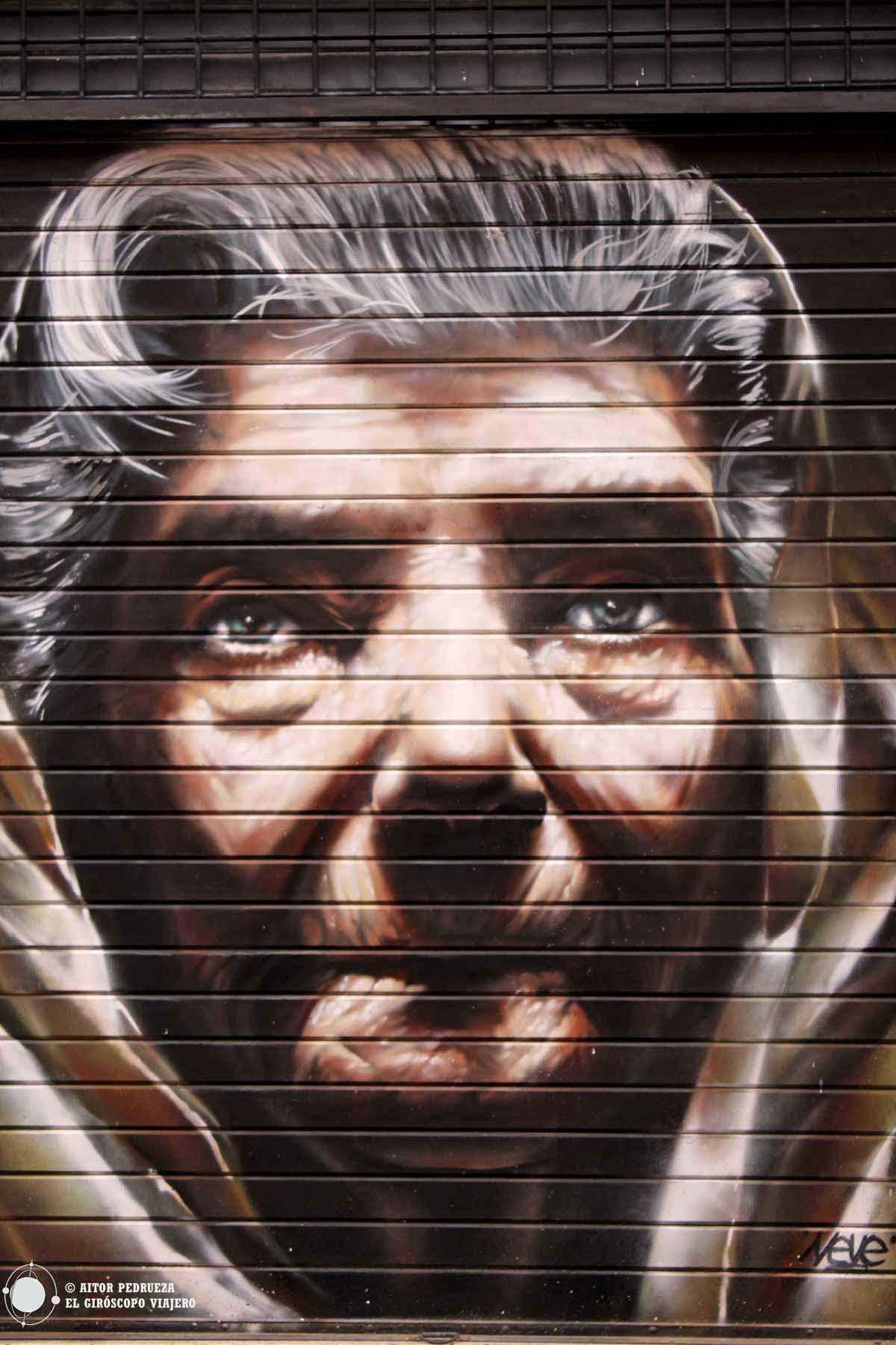 Graffiti en el Trastevere